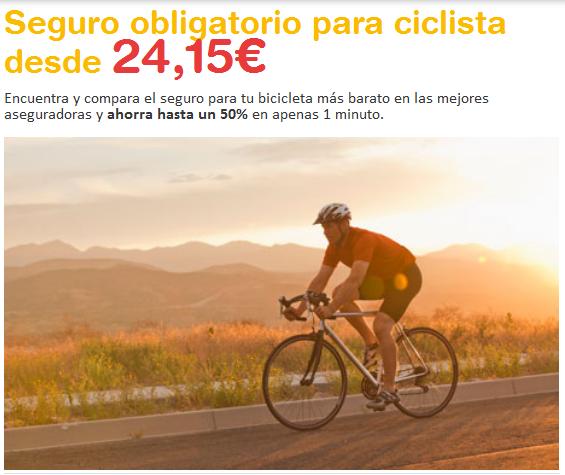 Seguros obligatorio para ciclistas biciplan