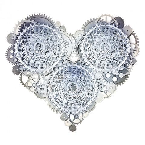 Corazón de cadena