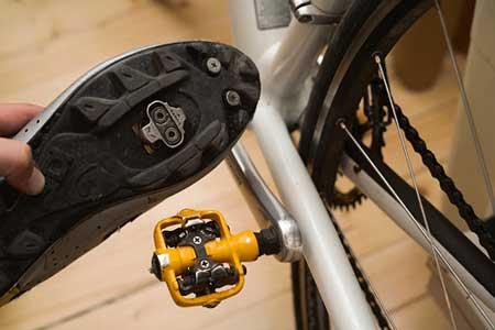 pedales automáticos y calas