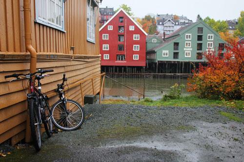 Bicis en Trondheim Fuente:mipaseoporelmundo.com