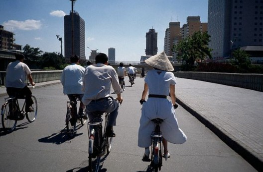 Bicis en Beijing Fuente: plataformaurbana.cl