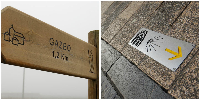 Camino Vasco Fuente: http://caminodesantiago.consumer.es/