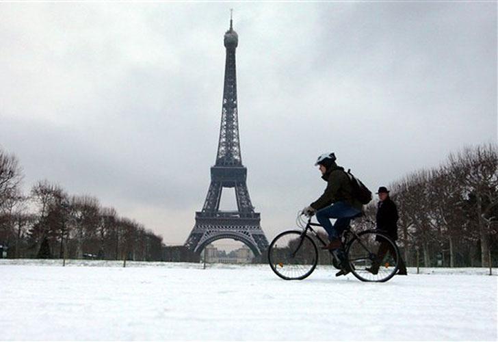 Paris en bicicleta Fuente:  www.perfil.com