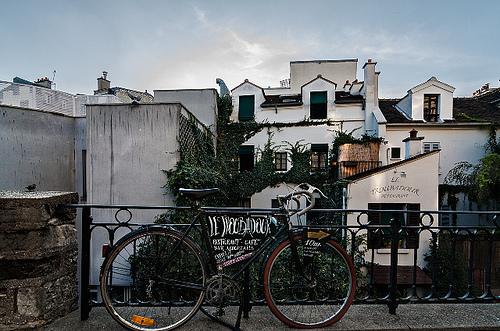 Paris en bicicleta Fuente: www.flickr.com