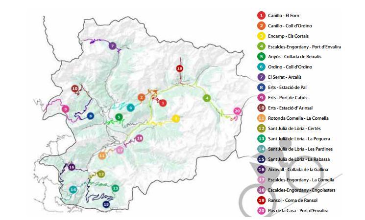 Andorra en bici