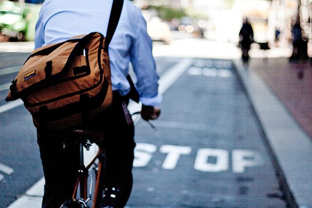 Al trabajo en bici Fuente: madridenbicicleta.es