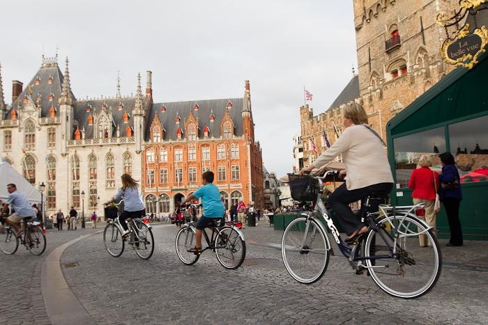 Bélgica en bici Fuente:  www.trafficnews.ec