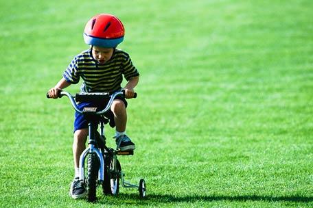 Los primeros pedaleos Fuente: www.pianelli.com.ar