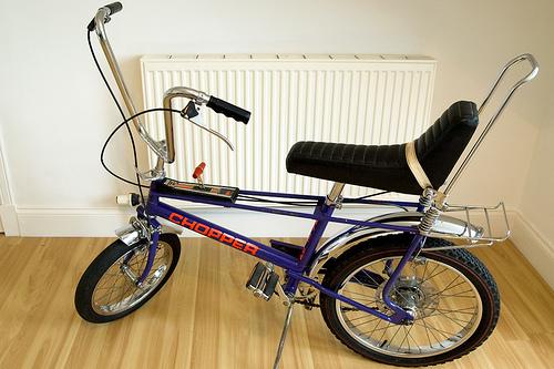 Bicicleta Chopper Fuente:http://eduardoascaniovwtenerife.blogspot.com.es/2013/06/mi-primera-bicicleta-la-raleigh-chopper.html