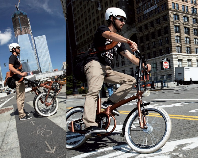 Bicicleta Plegable Fuente: espaciodeportes.com