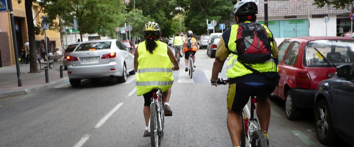 Ciclistas por la ciudad Fuente:  bicihome.com