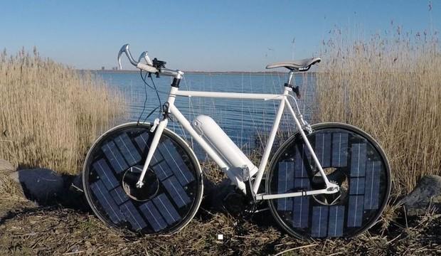 Solar Bike Fuente: www.citylab.com