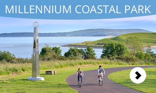 Millenium Coastal Park Fuente:  discovercarmarthenshire.com